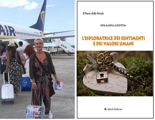 """La rocchitana Iolanda Leotta sarà al festival poetico """"Il Federiciano"""""""