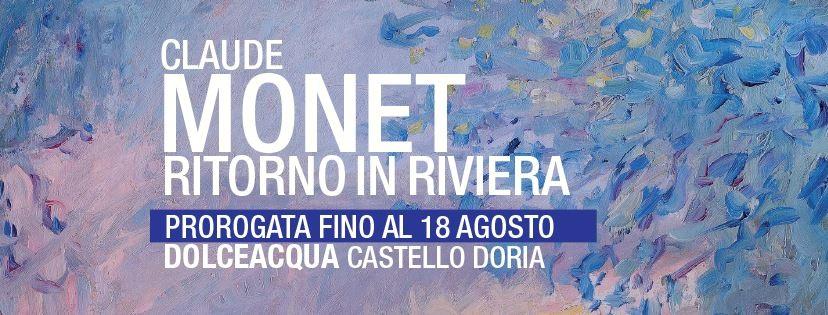Successo di Monet che supera i 30.000 visitatori. La mostra proroga a Dolceacqua fino al 18 agosto