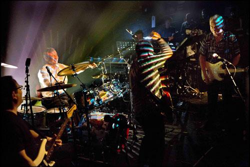 Batte forte il cuore dei Pink Floyd con i Nick Mason's Saucerful of Secrets