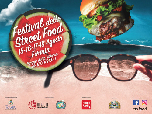 Festival Street Food Formia dal 15 al 18 agosto