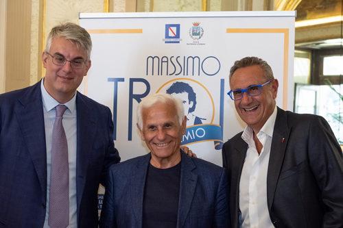 XIX Premio Massimo Troisi di San Giorgio a Cremano con la direzione Artistica di Gino Rivieccio