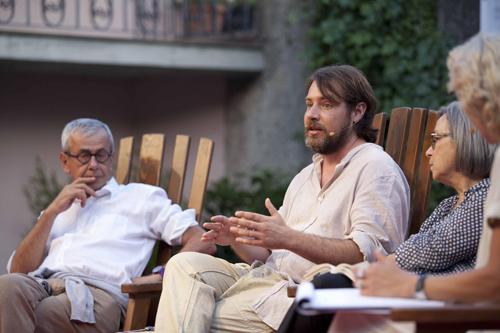"""A Capalbio Libri il """"naturalismo sordido"""" di Zandomeneghi si scontra con Chicco Testa"""