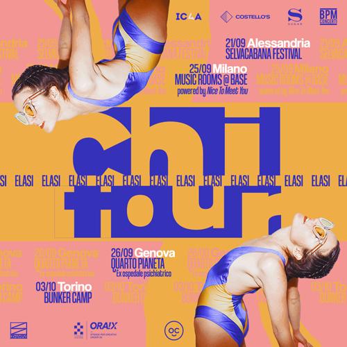 """Elasi in tour dal 21 settembre con il progetto """"Chi"""""""