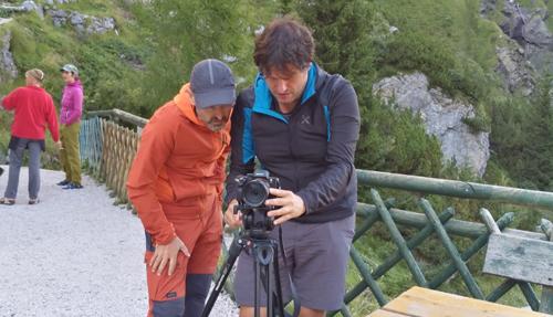 """Iniziate le riprese de """"Il cercatore di Infinito"""". Storia del cuore di Armando Aste, alpinista e poeta della montagna"""