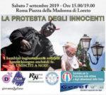 La protesta degli innocenti