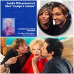 Sandra Milo presenta il suo libro di poesie
