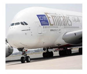 Al Leonardo da Vinci il 'gigante dei cieli' A380
