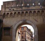 Porta Settimiana, la terza porta transtiberina delle mura romane