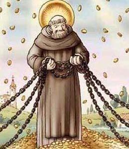 La catena di Sant'Antonio, leggende e tradizioni