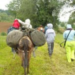 Trekking della solidarietà in Abruzzo