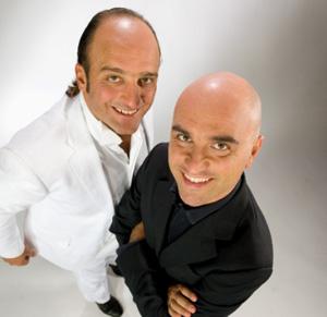 Paolo e Pedro in Te pare poco al Parco del Celio