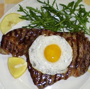 Bistecca alla Bismark