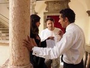 Seconda settimana di riprese della fiction Rai Sposami al Castello del Buonconsiglio