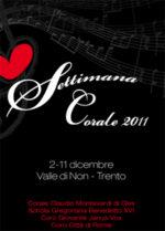 Parte il Festival del canto gregoriano: concerti, un seminario e incontri pubblici in Val di Non