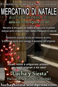 Mercatino di Natale a Lucha Y Siesta a Roma