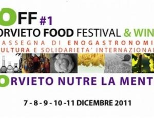 OFF Orvieto Food Festival con Luis Sepulveda, Erri de Luca, Fabio Volo, Renzo Arbore rtc