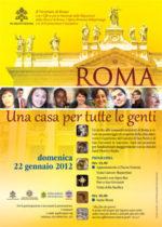 Roma, una casa per tutte le genti