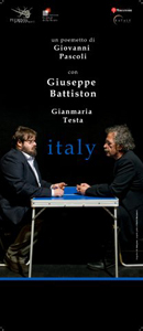 Giuseppe Battiston e Gianmaria Testa rileggono Giovanni Pascoli il 29 febbraio a Terranuova Bracciolini