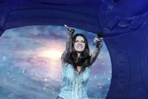 Laura Pausini, grande successo per il tour sudamericano, il video di benvenuto in nomination ai Premio Lo Nuestro 2012