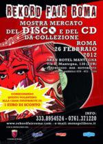 Hotel Aran di Roma, Mostra Mercato Del Disco
