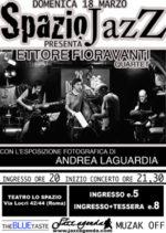 Ettore Fioravanti Quartet in concerto al teatro lo Spazio di Roma