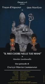 Il mio cuore nelle tue mani, lo spettacolo con Tosca D'Aquino e Gea Martire a Palazzo Santa Chiara di Roma