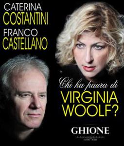 Chi ha paura di Virginia Woolf? Lo spettacolo in calendario al Teatro Ghione di Roma