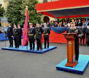 Cerimonia di giuramento e conferimento degli alamari a 198 Allievi Carabinieri