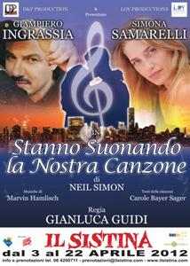 Stanno suonando la nostra canzone, lo spettacolo in programma al teatro Sistina di Roma