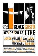 Black Gusto Live presenta Joyce Yuille, J.S.R. Feat e Michael Rosen