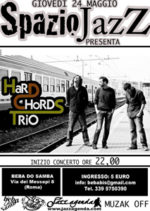 Gli Hard Chords Trio al Beba do Samba