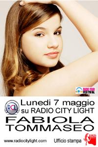 Fabiola Tommaseo, intervista radio su RadioCityLight in compagnia di Manuela Cognigni