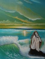 Mare, amore mio…, i quadri di Jone Pierantonio in mostra al Pontile di Ostia