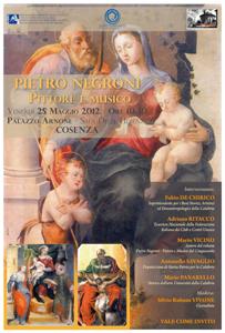 Approfondimento su Pietro Negroni, pittore del Cinquecento a Palazzo Arnone a Cosenza