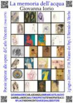 La memoria dell'acqua, il libro di Giovanna Iori alla II Biennale di Viterbo