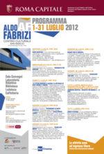 La lettura incontra la cultura e lo spettacolo del mondo, la rassegna in programma al Centro Culturale Aldo Fabrizi