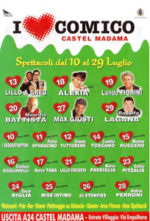 I love comico, la rassegna in scena al Gomma gomma di Castel Madama