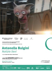 Notizie lievi, la prima mostra retrospettiva di Antonello Bulgini al Museo Pietra Canonica di Roma