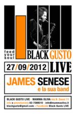 Ritorna Black Gusto Live al Mamma Oliva di Milano con James Senese in concerto