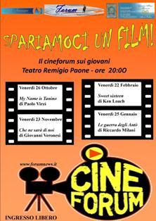 Teatro Remigio Paone, grande ritorno del cinema al centro di Formia