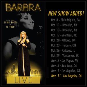 Il volo canta con Barbra Streisand e conquista gli Usa