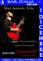 Max Amazio Trio presenta: Racconti