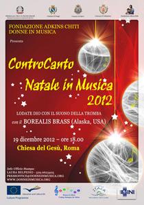 Tornano gli appuntamenti con Controcanto, Natale in Musica