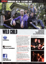 The Wild Child, sangue metal nell'annuario Rock Hard