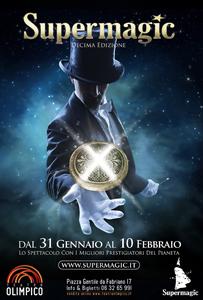 Supermagic, Festival Internazionale della Magia, al via la Decima edizione al Teatro Olimpico