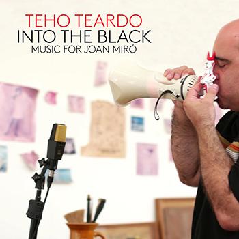 Teho Teardo nello studio privato di Mirò a Palma de Maiorca