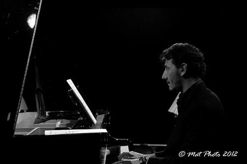 Andrea Pagani Trio in Canzoni senza voce al Ristorante Le Garage di Roma