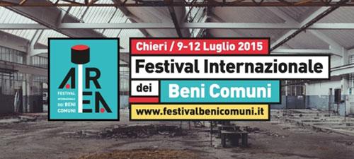 Area Festival Internazionale dei beni comuni. Un focus su ogni forma di vivere e produrre in comune