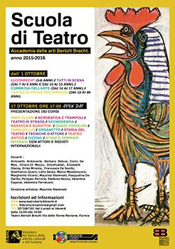 Al via la scuola – accademia di teatro di ricerca, popolare, di strada, di figura e di immagine