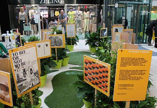 Green Island 2015, allestimento di promo giardinaggio